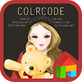 Color code trendy girl Dodol