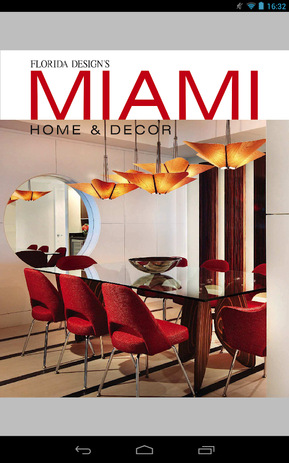 Miami Home & Decor Magazine- screenshot