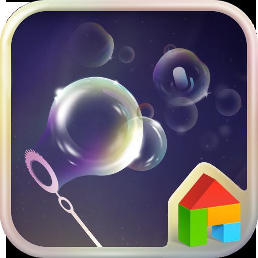 シャボン玉ドドルランチャーテーマ 個人化 App LOGO-APP試玩