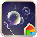 Soap Bubble Dodol Theme