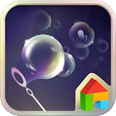 Soap Bubble Dodol Theme