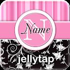 ★ Monogrammed Theme Go SMS ★ icon