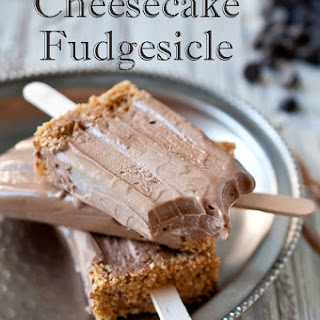 Chocolate Stout Cheesecake Fudgesicle