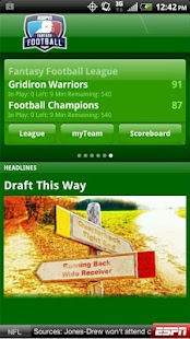 ESPN Fantasy Football - screenshot thumbnail