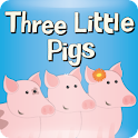 Three Little Pigs – Zubadoo logo