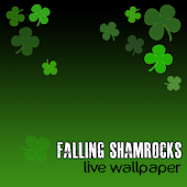 Live Wallpaper Shamrocks