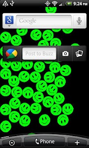 Free PowerSmileysLiveWallpaper screenshot 1