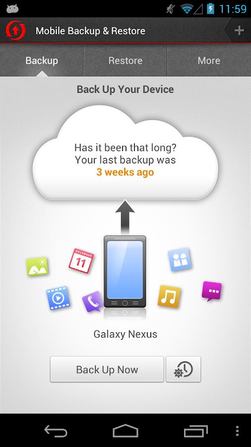 Mobile Backup & Restore- screenshot