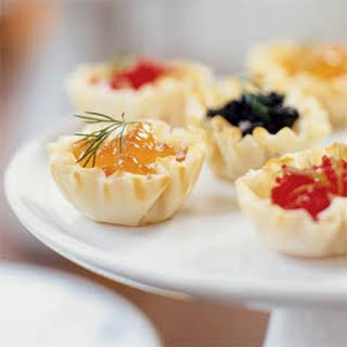 Caviar Tartlets.