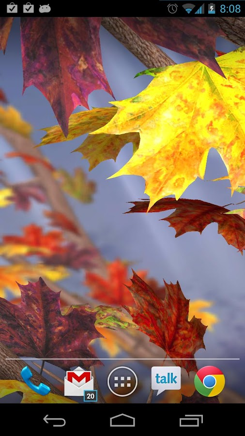 Autumn Tree Free Wallpaper - screenshot