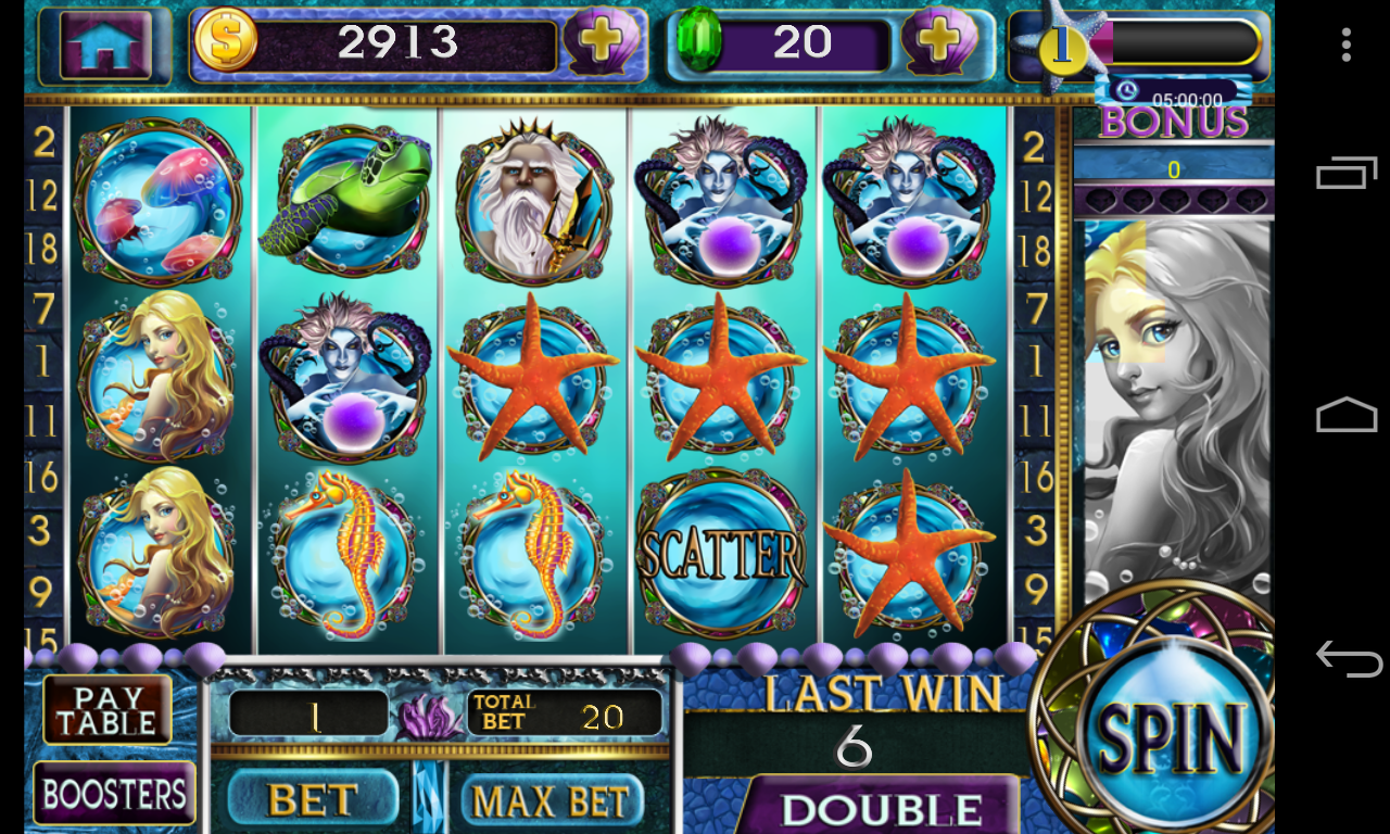 Moonlit Mermaids Slot Machine - Play it Now for Free
