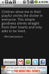 Jacksonisms - screenshot thumbnail