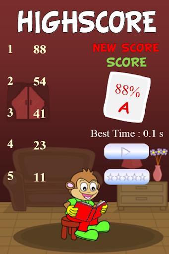 【免費街機App】Speed Read Monkey-APP點子