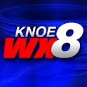 KNOE 8 WX logo