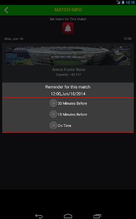 Football World Cup Live Score 1.6 screenshot 58194