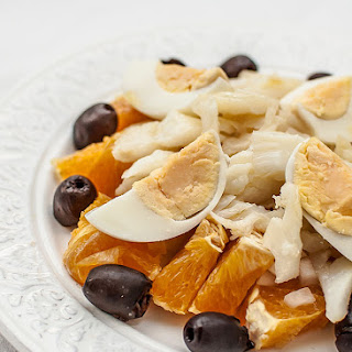 Remojon (Codfish Salad).