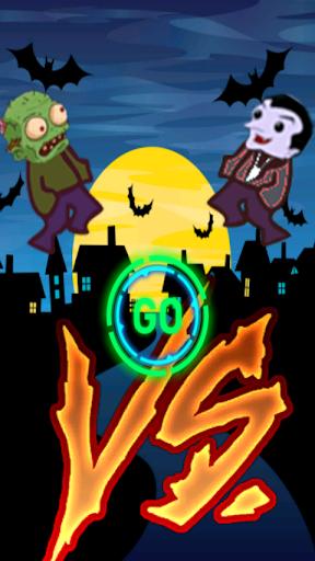 Zombie Versus Vampire