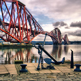 Forth Rail Bridge by Martin Hughes - Buildings & Architecture Bridges & Suspended Structures ( forth rail bridge )