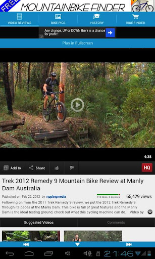 Mountain Bike Reviews Free