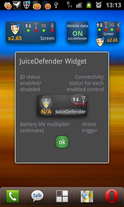 JuiceDefender Ultimate- screenshot