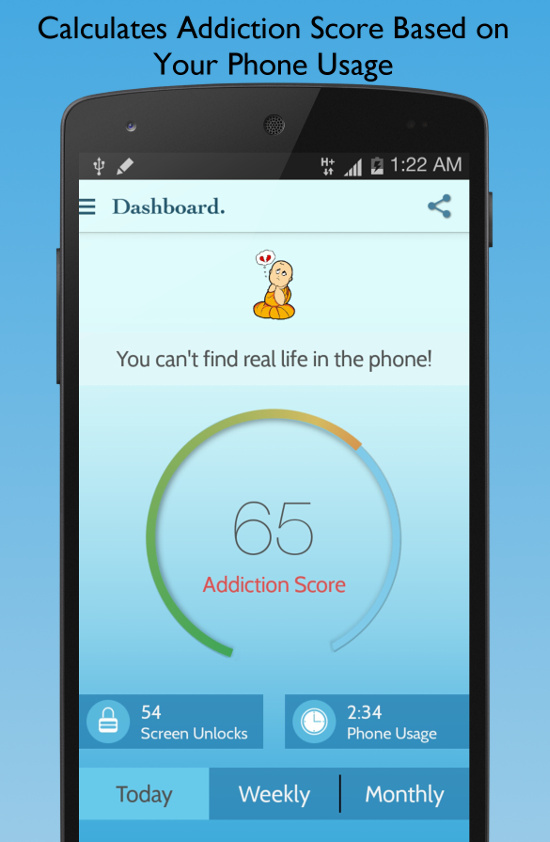 BreakFree Cell Phone Addiction- screenshot