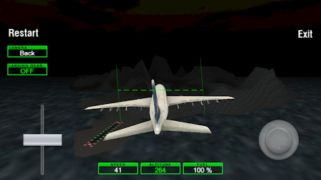 Airplane Night Flight Time Sim 1 screenshot 88018