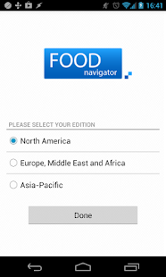 FoodNavigator- screenshot thumbnail