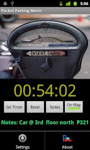 Pocket Parking Meter free- screenshot thumbnail