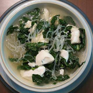 Japanese-Inspired Whitefish and Noodle Soup.