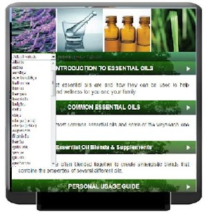 essential oils guide - screenshot thumbnail