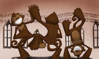 Screenshot of القرود الراقصة