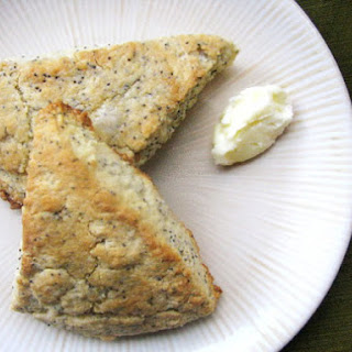 Lemon Poppyseed Scones.