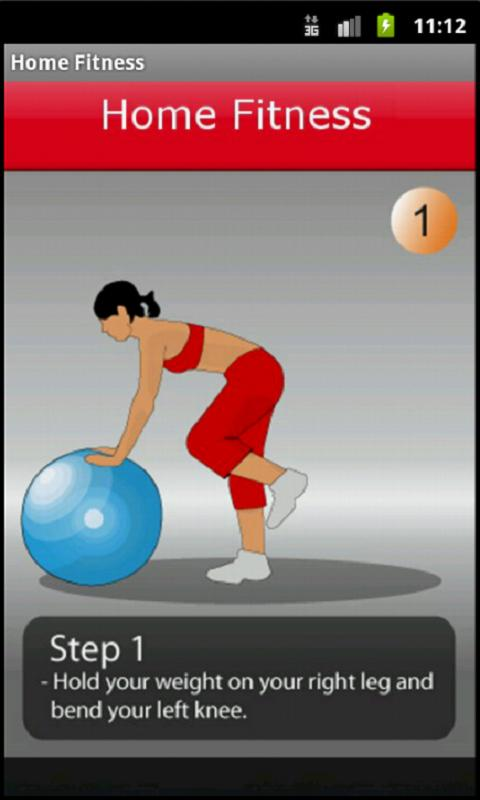 Home Fitness - screenshot