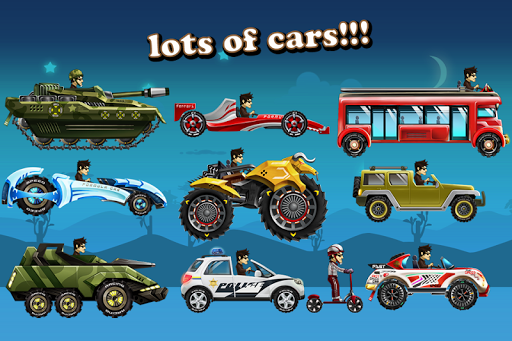 Up Hill Racing: Car Climb Giochi (APK) scaricare gratis per Android/PC/Windows screenshot