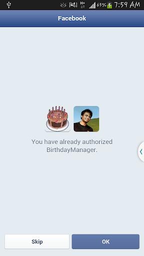 BirthdayManager