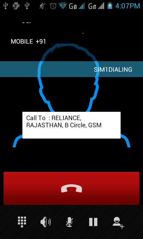 Caller Location INDIA - screenshot