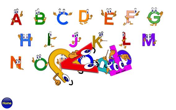 ABC Alphabet Phonics Plus Free Poster