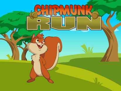 Chipmunks Run Go Baby Chipmunk