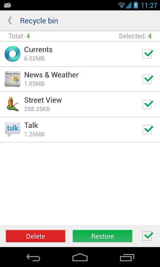 بهرنامه بۆ ئهندرۆید system app remover v3.4.1015 Apk بهئاسانی بهرنامهكانی ناو مۆبایلت رهش كهوه