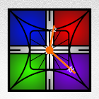 Stain Glass Zooper Widget icon