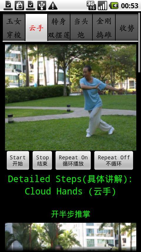 Chen TaiChi18-3陈氏十八式太极拳3- screenshot