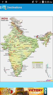 Maps of India:Travel Guide - screenshot thumbnail