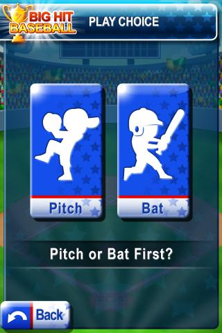 Big Hit Baseball Free- screenshot