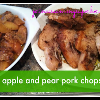 Spiced Apple And Pear Pork Chops