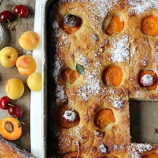 Apricot Flatbread.