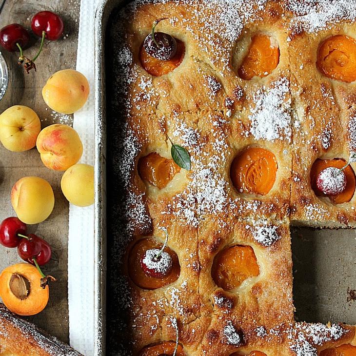 Apricot Flatbread Recipe