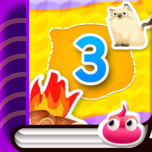 핑글:스티커북03 教育 App LOGO-硬是要APP