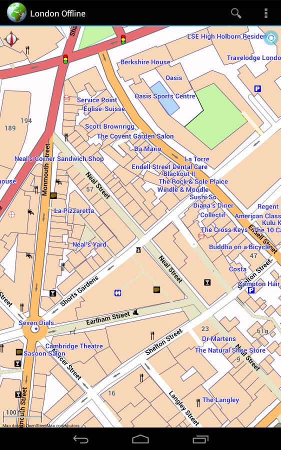 Offline Map London