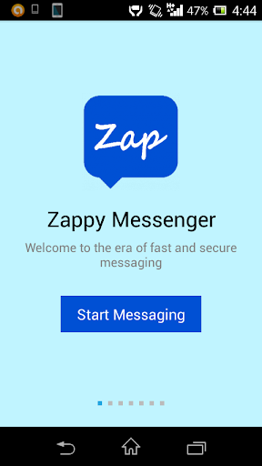 Zappy Messenger send any file