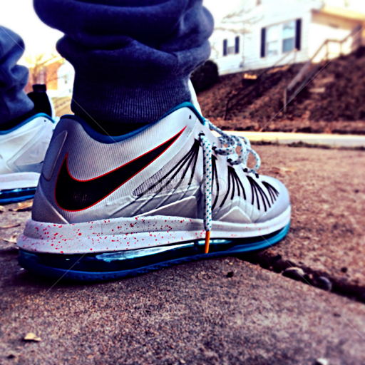 Nike Air Max Lebron X Low Akron Areos by Taras Simpson - Instagram & Mobile  iPhone © Taras Simpson. These are my shoes